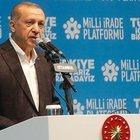 ERDOĞAN: MİLLETVEKİLİMİZİN AĞABEYİNİ PKK'LILAR ÖLDÜRDÜ