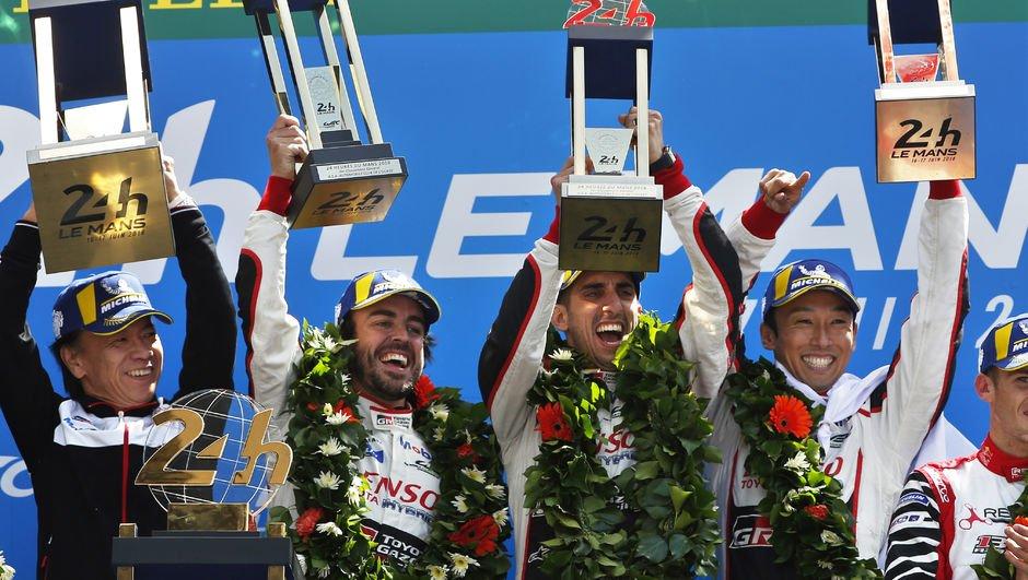 Le Mans'da zafer Alonso'nun