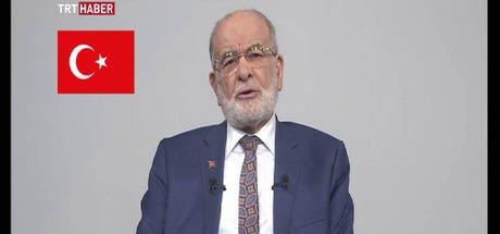 Saadet Partisi cumhurbaşkanı adayı Karamollaoğlu TRT'de konuştu