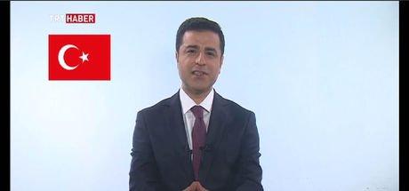 Son dakika: Selahattin Demirtaş TRT konuşması