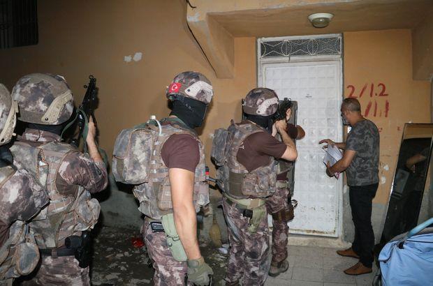 Adana'da terör operasyonu! 17 kişi gözaltında