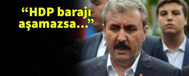 Destici'den sandalye dağılımı yorumu! HDP barajı aşamazsa...