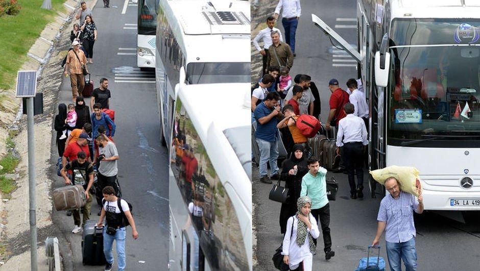 İstanbul'da bu sabah... Çareyi yürümekte buldular!