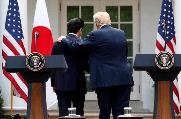 Trump'tan Japonya Başbakanına 'göçmen tehdidi!