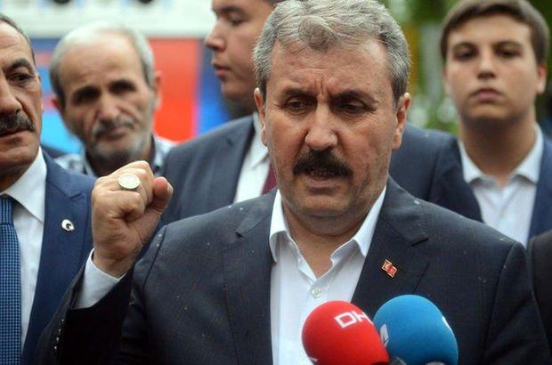 BBP Genel Başkanı Mustafa Destici