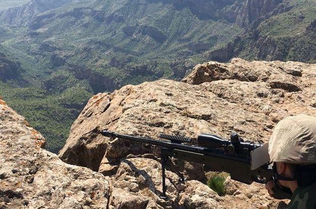 Şırnak'ta 8 PKK'lı etkisiz hale getirildi