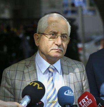 """Son dakika haberi... YSK Başkanı Sadi Güven yurt dışı ve gümrüklerde oy kullanan seçmen sayısını açıkladı. Güven, """"An itibarıyla oy kullanan seçmen sayımız 1 milyon 227 bin 931"""" dedi"""