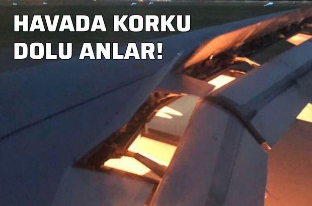 Suudi Arabistan Milli Takımı'nın uçağı havada alev aldı!
