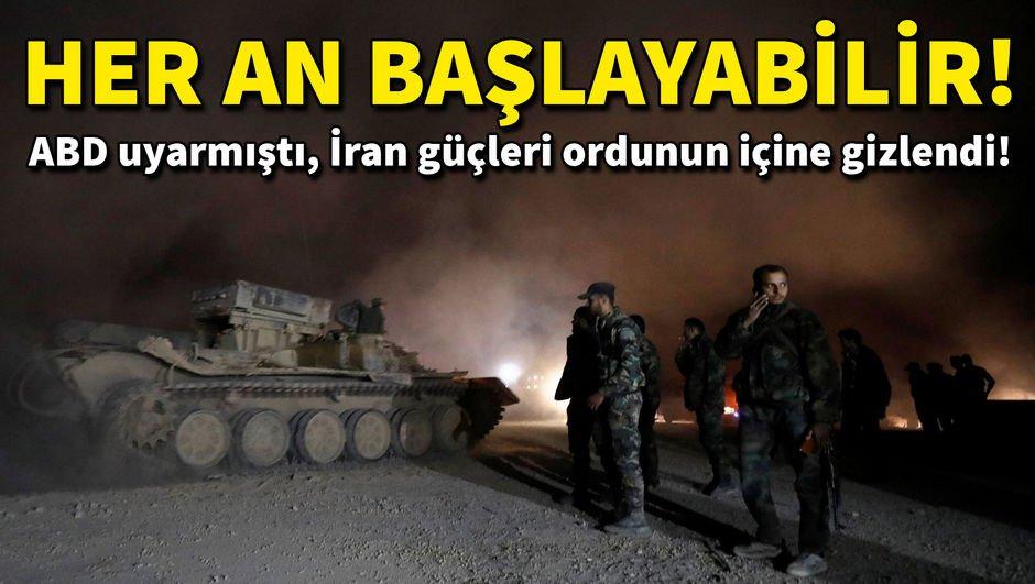 Esad, ABD'ye rağmen operasyona hazırlanıyor!