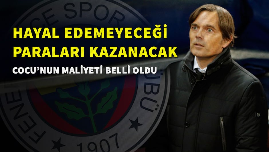 Phillip Cocu'nun Fenerbahçe'ye maliyeti...