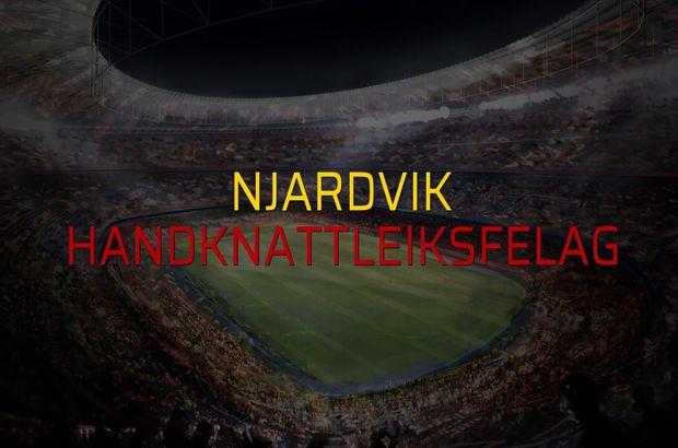 Njardvik - Handknattleiksfelag sahaya çıkıyor