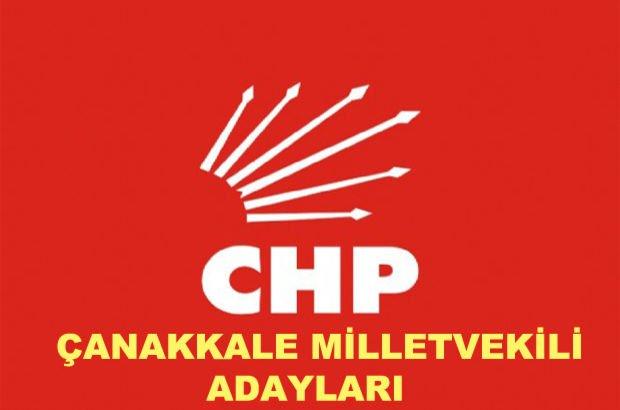 Çanakkale CHP milletvekili aday listesi! 2018 CHP'nin Çanakkale milletvekili adayları