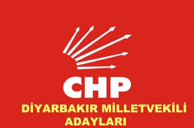 Diyarbakır CHP milletvekili aday listesi! 2018 CHP'nin Diyarbakır milletvekili adayları