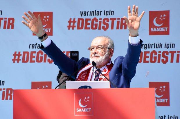 Son dakika! Cumhurbaşkanı adayı Temel Karamollaoğlu: Parlamenter sisteme dönülsün