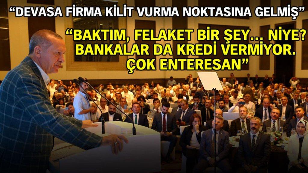 Cumhurbaşkanı Erdoğan Çukurova'daki işadamları ile buluştu