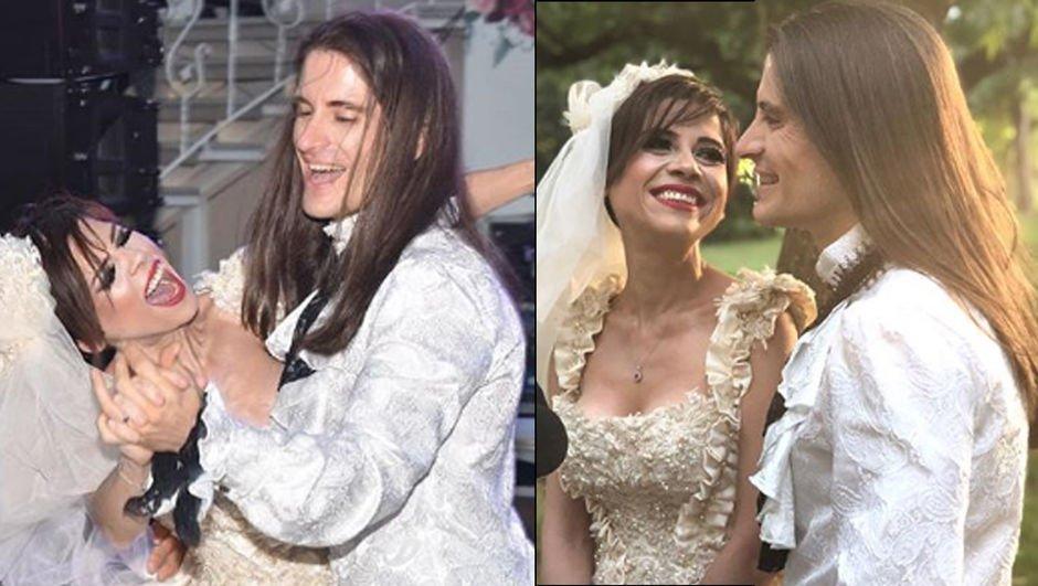Ünlü şarkıcı evlendi