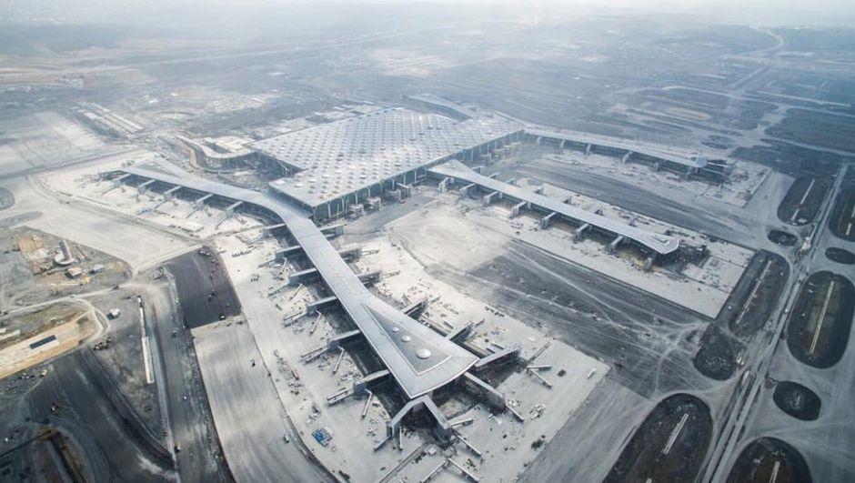 Ekipmanlar yola çıktı! İşte Yeni Havalimanı'na tarihi inişin detayları