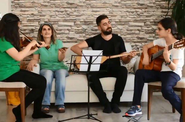 Son dakika... Selahattin Demirtaş'ın türküsünü eşi ve kızları söyledi