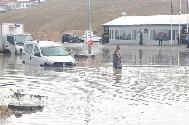 Başkent sular altında kaldı