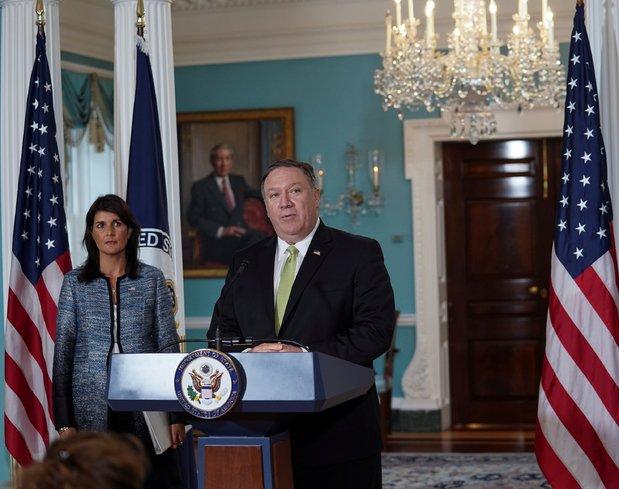 ABD, 'Bu konsey ismine layık değil' dedi ve çıktı