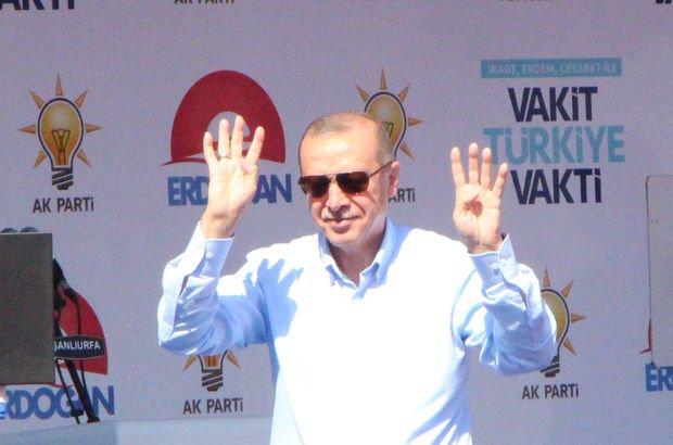 Son dakika... Cumhurbaşkanı Erdoğan Mardin'de seçmenle buluştu