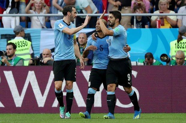 Uruguay: 1 - Suudi Arabistan: 0  MAÇ SONUCU VE ÖZETİ! Tur atlayan ilk takımlar belli oldu!