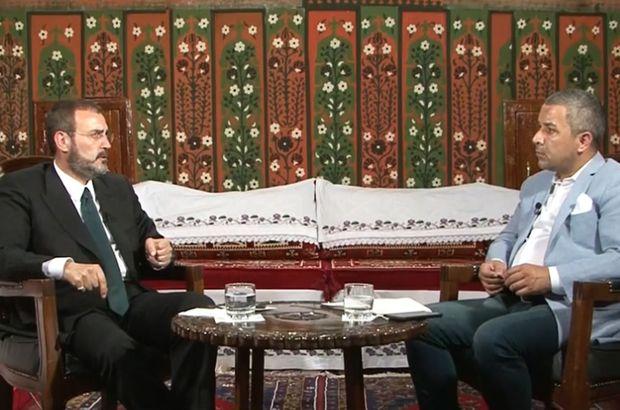 Mahir Ünal, Habertürk TV'de Veyis Ateş'in konuğu oldu