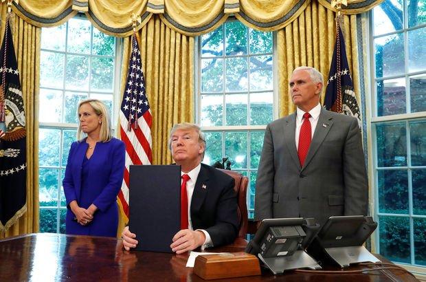 Son dakika... Trump yeni göçmen kararnamesini imzaladı