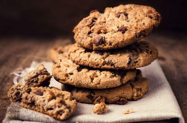 Az malzemeli kurabiye tarifi: 3 malzemeli damla çikolatalı kurabiye nasıl yapılır?