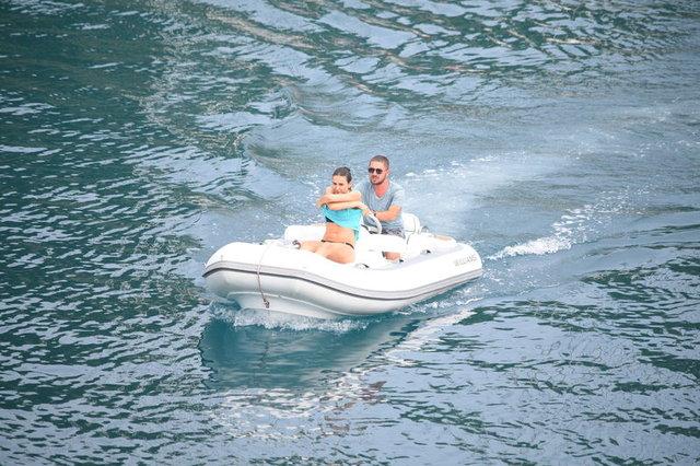 Mustafa Sandal'ın eski eşi Emina Jahovic'in (Emina Sandal) protokol tatili