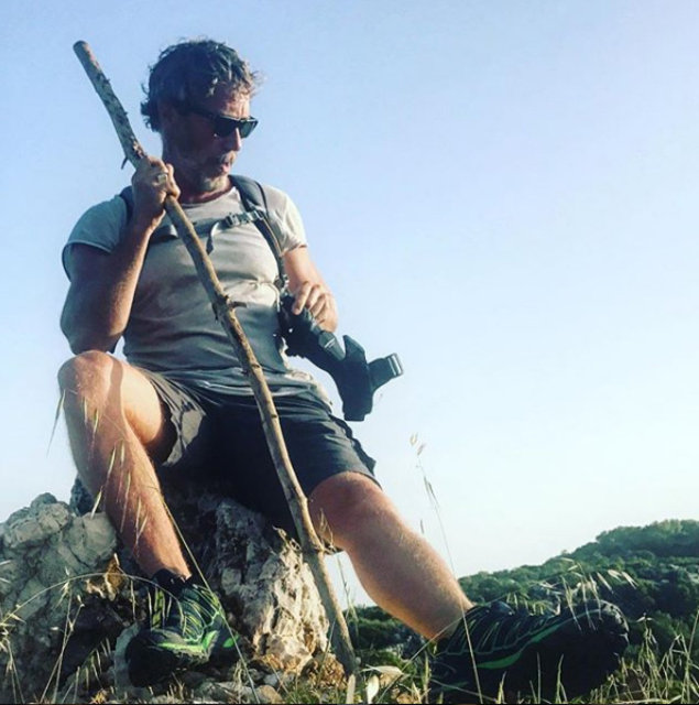 Ünlü oyuncu Sinan Albayrak doğal yaşamın tadını çıkarıyor - Magazin haberleri