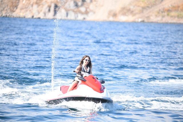 Nihan Akın tatil sezonunu Bodrum'da açtı - Magazin haberleri