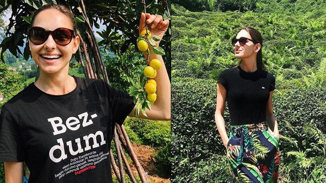 Jessica May, Karadeniz turunda - Magazin haberleri