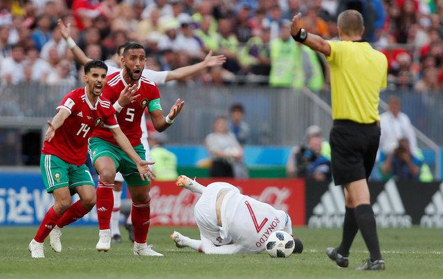 """Nordin Amrabat'tan sert sözler: """"Hakem, Cristiano Ronaldo'nun formasını istedi"""""""