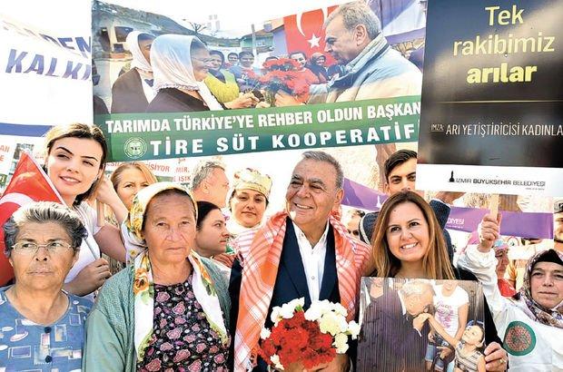 İzmir tarımı 2004'ten sonra % 7.5'lik büyüme yakaladı