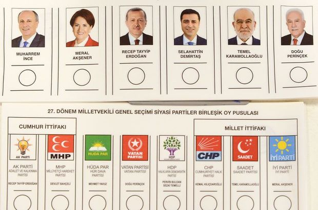 Yurt dışında kullanılan oylar Ankara'da