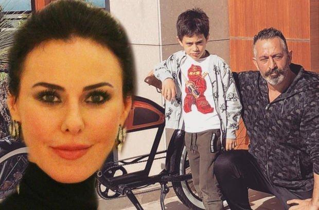 Defne Samyeli, Cem Yılmaz'ın oğlu Kemal Yılmaz ile tanıştı