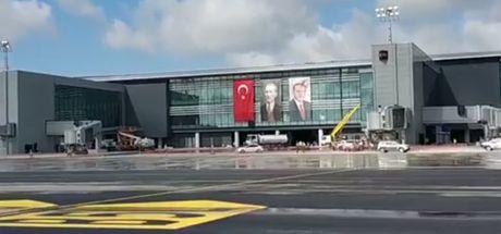Son Dakika: Yeni Havalimanı tarihi inişe hazır! İşte ilk kareler