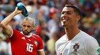 """Amrabat'tan sert sözler: """"Hakem, Ronaldo'nun formasını istedi"""""""