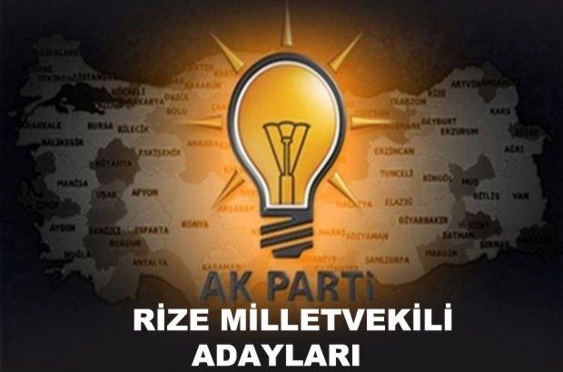 Rize AK Parti milletvekili aday listesi! 2018 AK Parti Rize milletvekili adayları