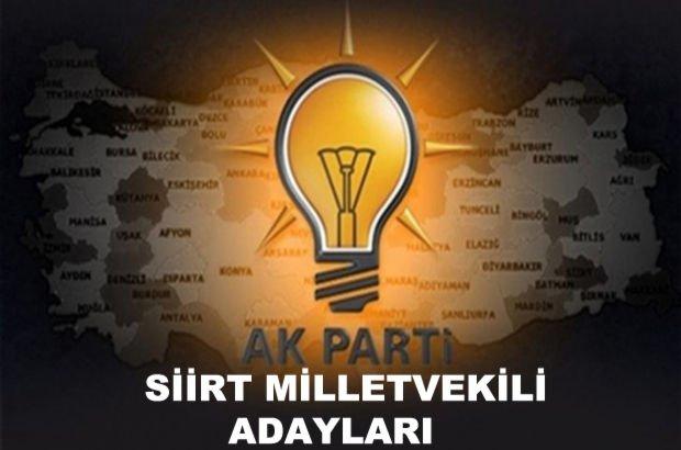 Siirt AK Parti milletvekili aday listesi