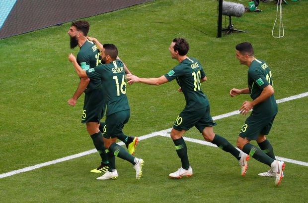 Danimarka: 1 - Avustralya: 1   MAÇ SONUCU