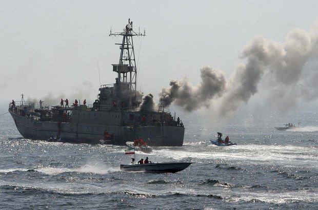 Son Dakika... Yüksek gerilim sürüyor! İran savaş gemilerini gönderdi