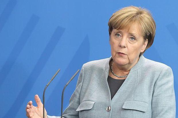 Merkel'den iran çağrısı