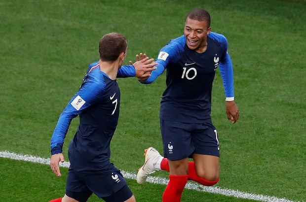 Fransa: 1 - Peru: 0 (MAÇ SONUCU)