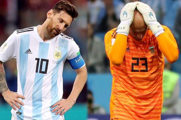 Arjantin - Hırvatistan (Dünya Kupası maçları)