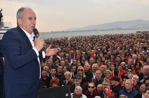 Muharrem İnce İzmir mitinginde vatandaşlara sesleniyor