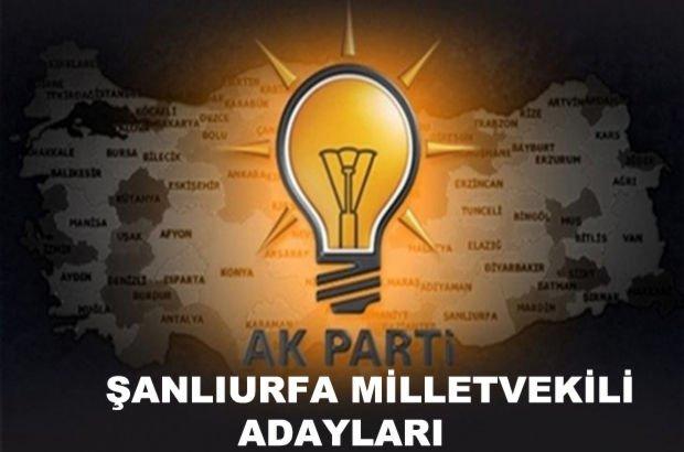 Şanlıurfa AK Parti milletvekili aday listesi! AK Parti'nin milletvekili adayları