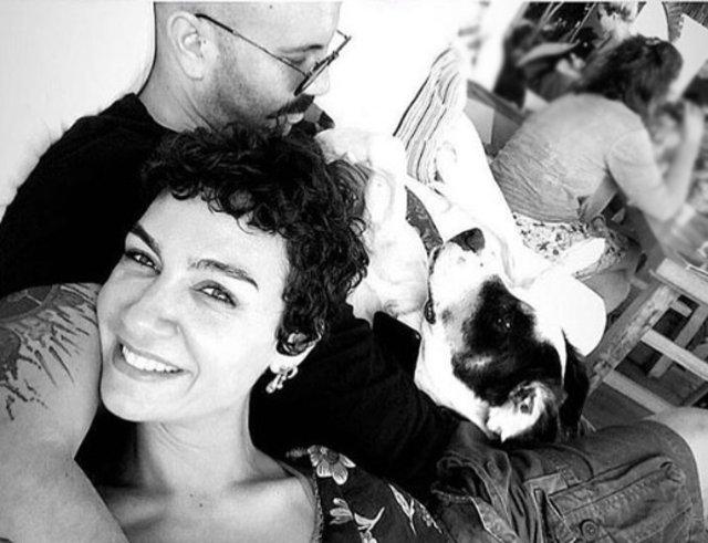 Birce Akalay ile Can Tunalı'nın evleri köpek yüzünden ayrıldı