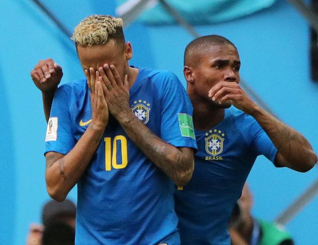 Son düdüğün ardından Neymar gözyaşlarına boğuldu! Dünya Kupası maçı